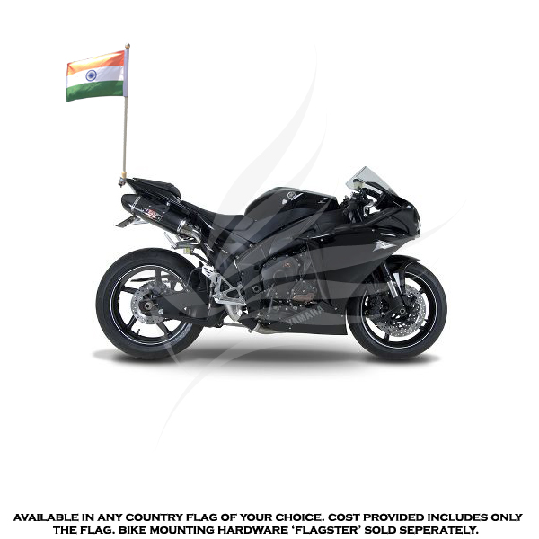 Bike Flags Indian National Flag Motorcycle Bike Flag