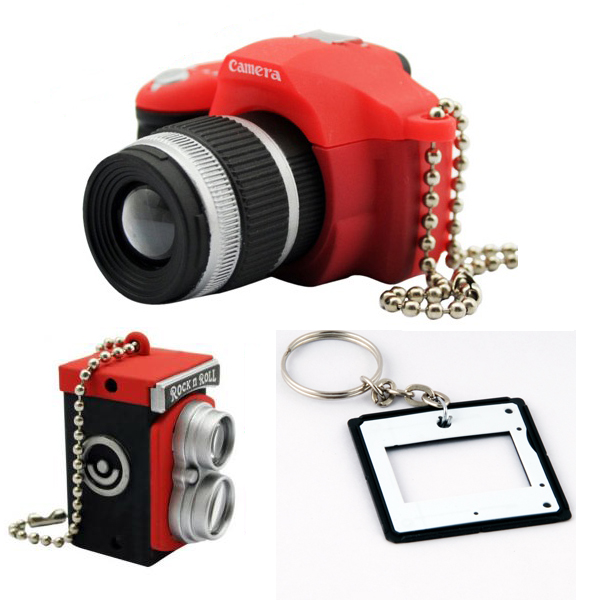 Photographer Keychain Set