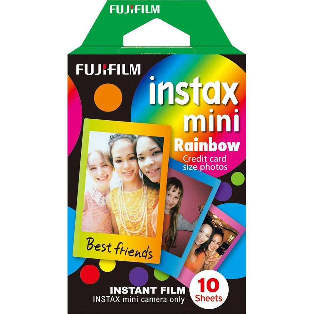 Fuji Instax Mini Films Fuji Mini 9/8/50s/25/90/70 Rainbow