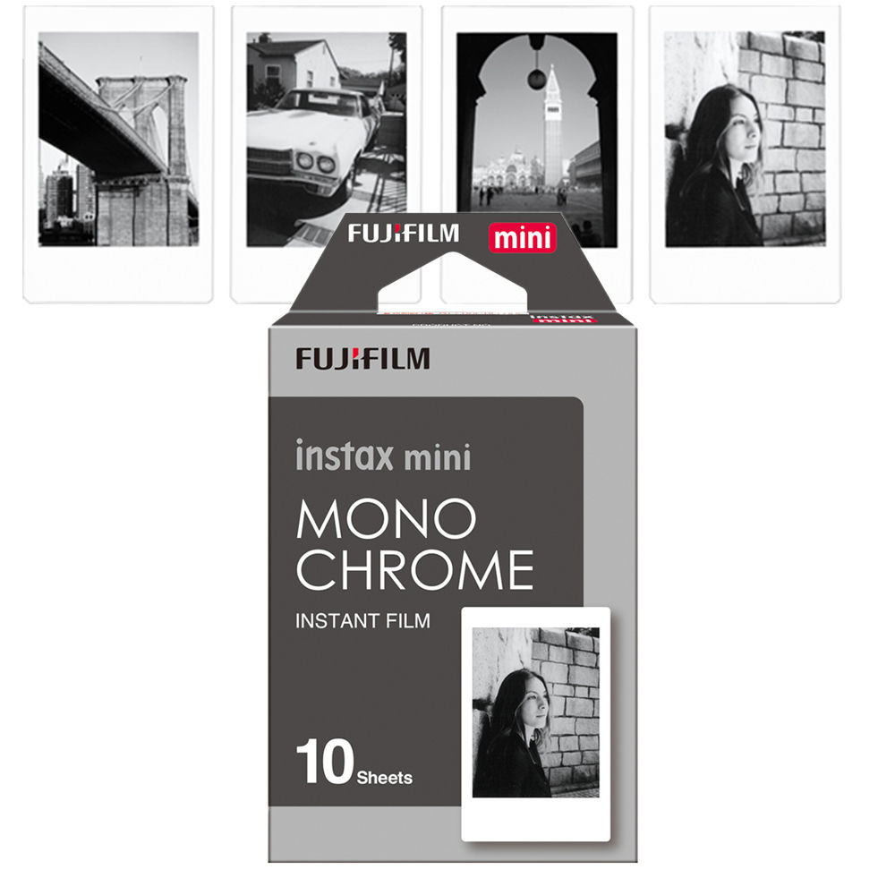 Fuji Instax Mini Films Fuji Mini 9/8/50s/25/90/70 Monochrome
