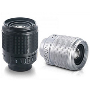 CAMERA LENS SHAPED PORTABLE SPEAKER (JEWEL CASE)
