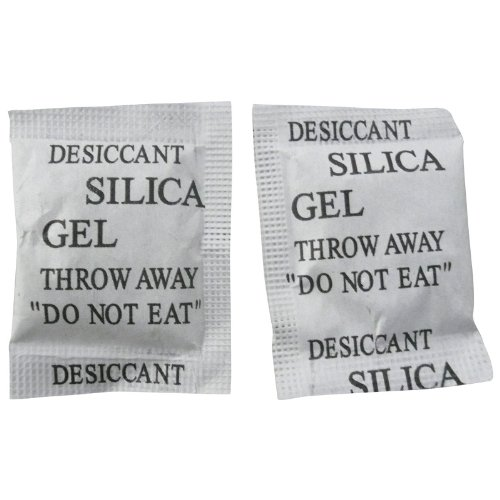 Silica gel for storing cameras and lenses
