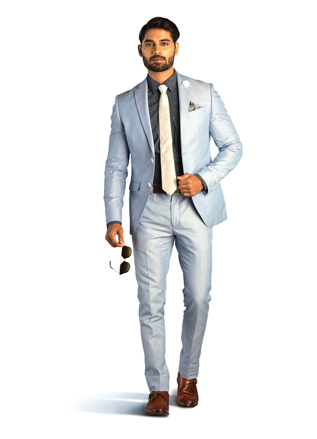 Smart summer 2 piece suit