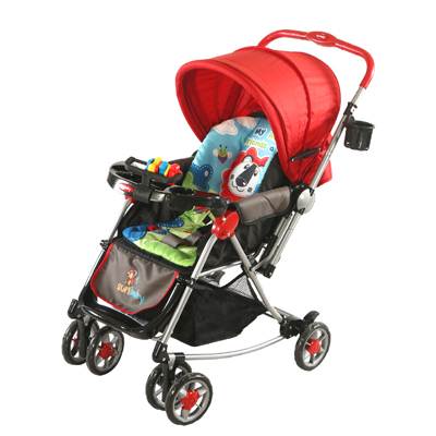 Strollers & Prams, Outdoor, Baby Gear, Bath & Health, Sunbaby, Sunbaby Brave Heart Lion Stroller SB-300X_Red ,