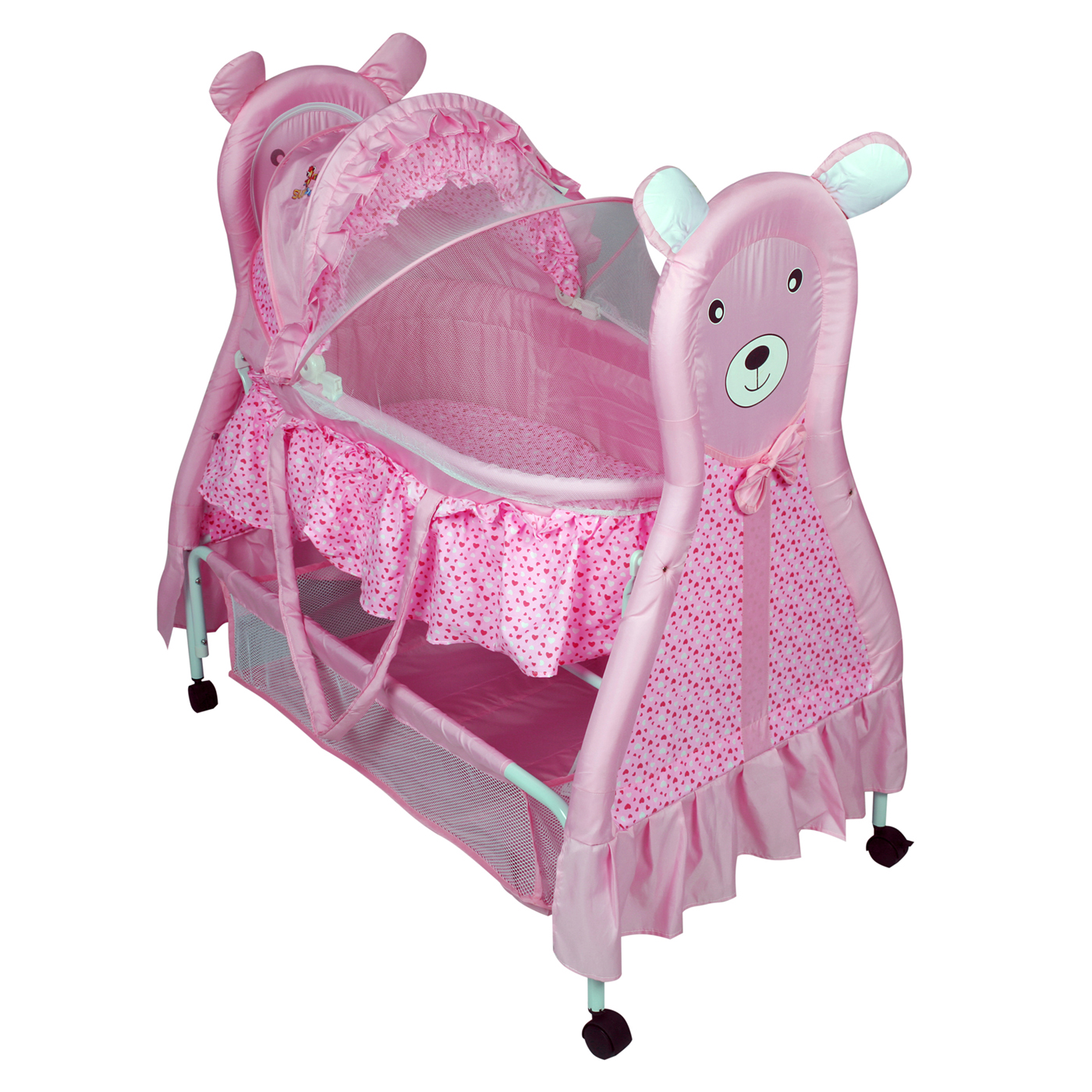 Baby bed online flipkart - Baby Bear Bassinet Buy Infant Rocking Musical Bassinets Online In India