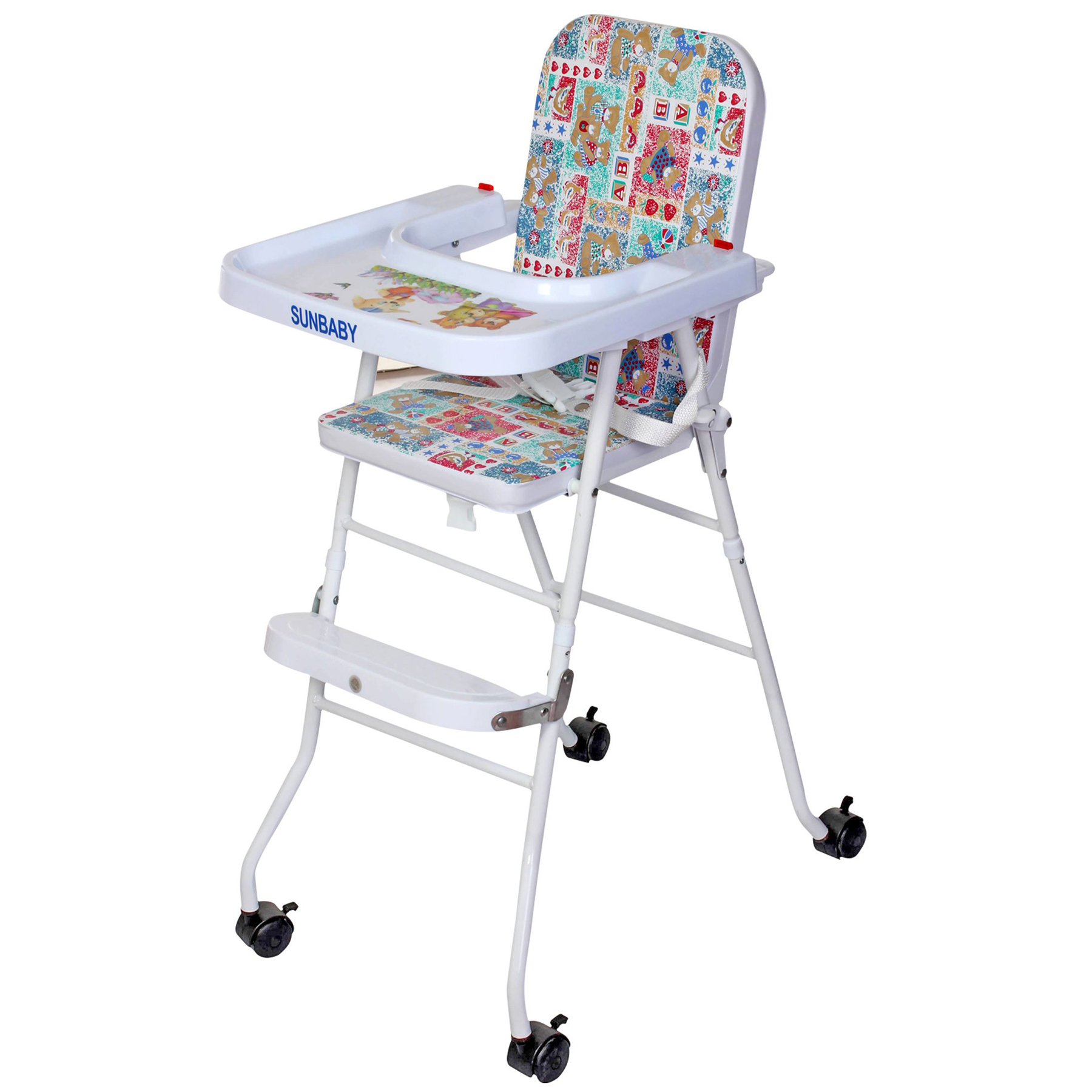 baby high chair sb4217w multicolor