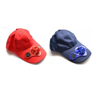 Baseball Cap | Cricket Cap | Solar Fan Cap
