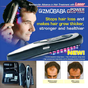 GB111-Gizmobaba Laser Power Comb to regrow hair, F