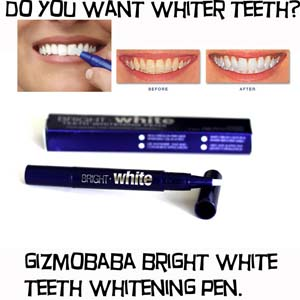 GB139-Gizmobaba Bright White Teeth Whitening Pen G