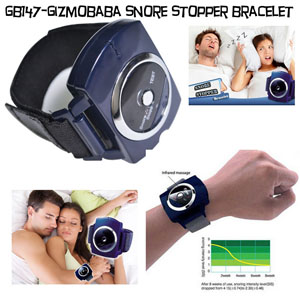 GB147-Gizmobaba Snore Stopper Wristband Gadget. SE