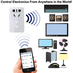 Smart Home | Smart Plug | Wifi Plug | Remote Plug