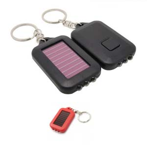 GB62-Mini Solar Powered Rechargeable 3 LED Flash L