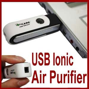 GB74-New Mini USB Auto Fresh Air Purifier Ionizer