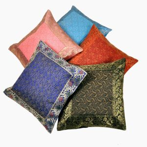 Jacquard Multi Colour Cushion Cover 5 Pc. Set