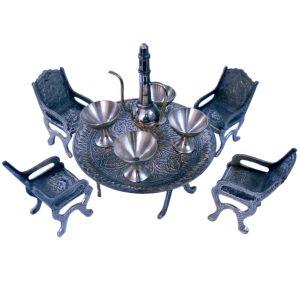 Unique Design Dining Table Chair Maharaja Set