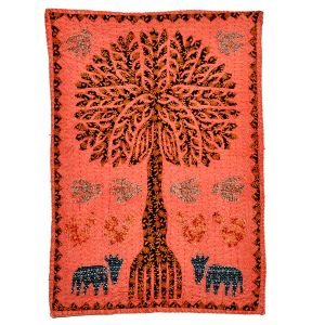 Exclusive Cloth Handcrafted Tree Wall Hanging