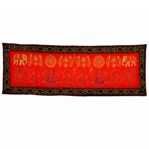Ethnic Jaipuri Hand Embroidered Wall Hanging