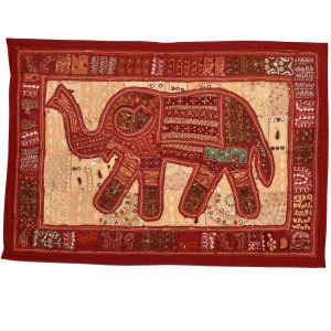 Jaipuri Applique Embroidered Elephant Hanging