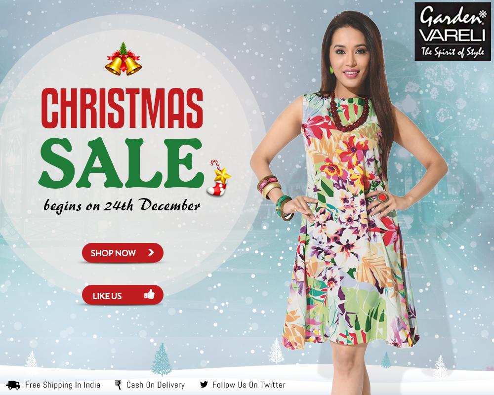 Christmas sale flat 25 off for Christmas decs sale