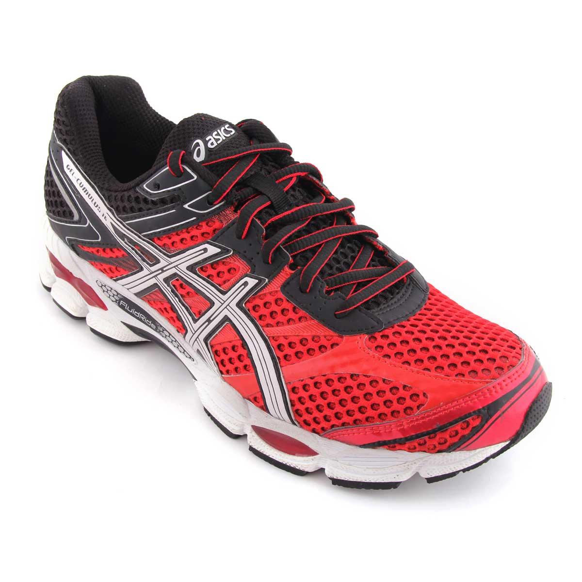 Running Shoes, Running, Buy, Asics, Asics Gel-Cumulus 16 Running Shoes  (Chinese Red/Black)