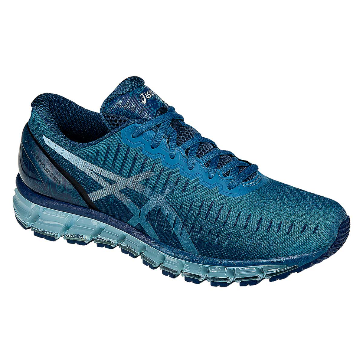 Running Shoes, Running, Buy, Asics, Asics Gel Quantum 360 Running Shoes  (Ocean/Blue/Ink)