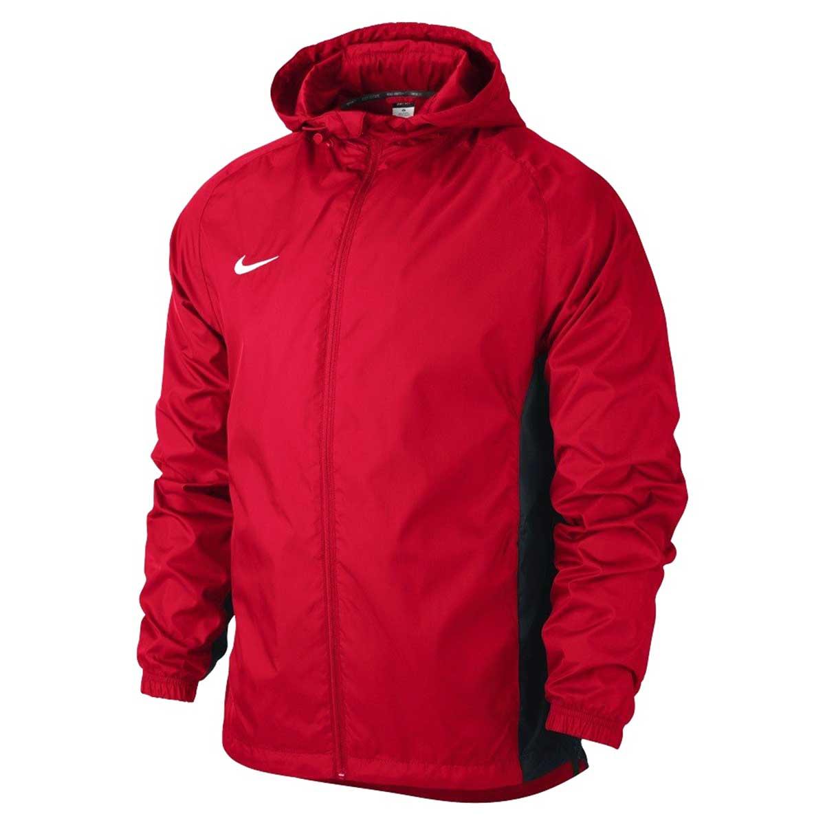 Jackets, Men's Sportswear, Clothing, Buy, Nike, Nike Academy Rain Jacket  (Red)