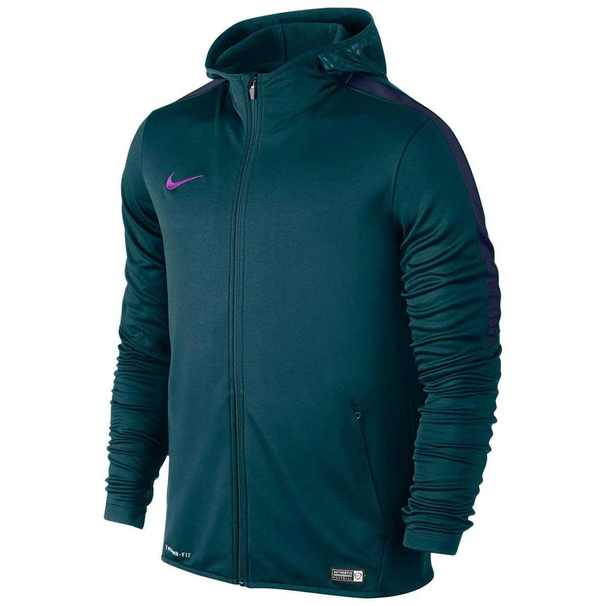 Jackets, Men's Sportswear, Clothing, Buy, Nike, Nike Full Zip Hoodie Jacket  (Green/Black)