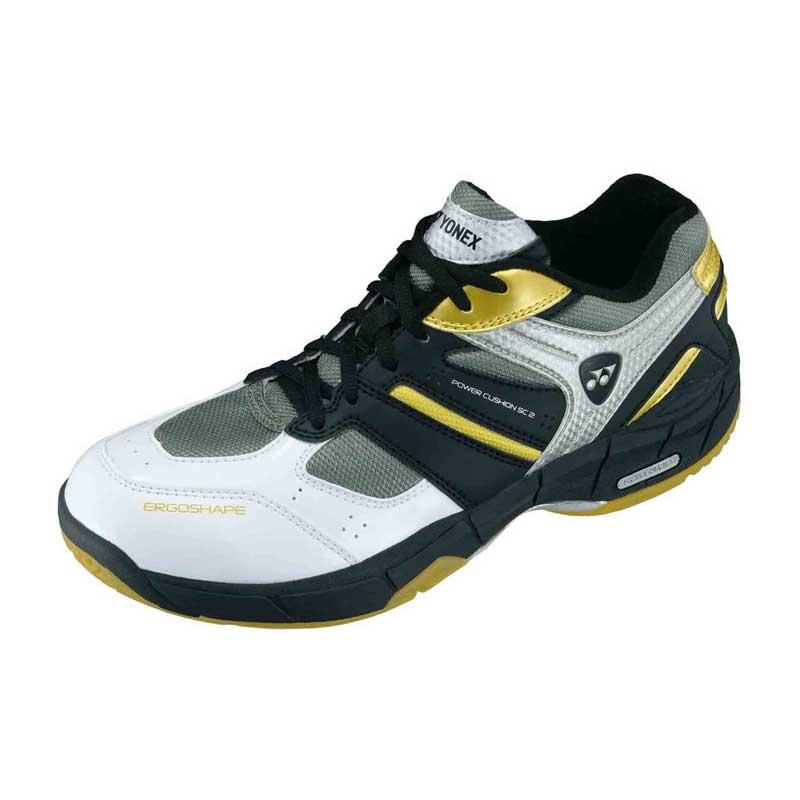 Badminton Shoes, Badminton, Sports, Buy, Yonex, YONEX SHB SC2 EX Badminton  Shoes , P.U.Leather,Polyester Mesh , EVA, Power Cushion, Solid EVA , Rubber  ...