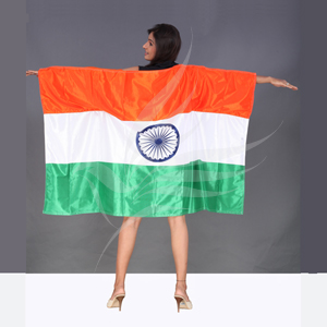 Sports Flags, EndureTex, Indian National Body Cape Flag
