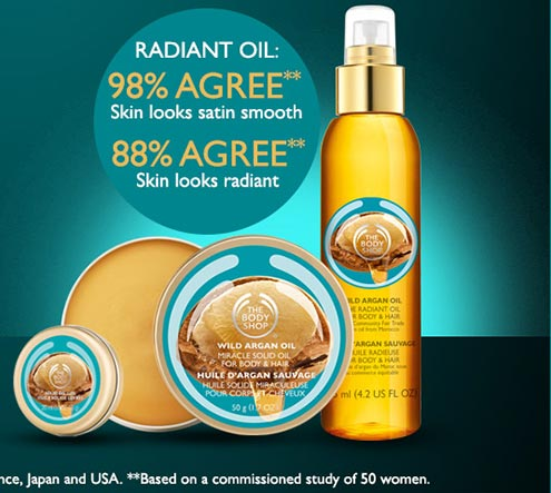 Wild Argan Oil Miracle Solid Oil & Solid Oil Lip Balm