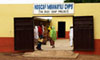 A maternity clinic in Mbanayili village, which was built with funds generated from trade with The Body Shop.